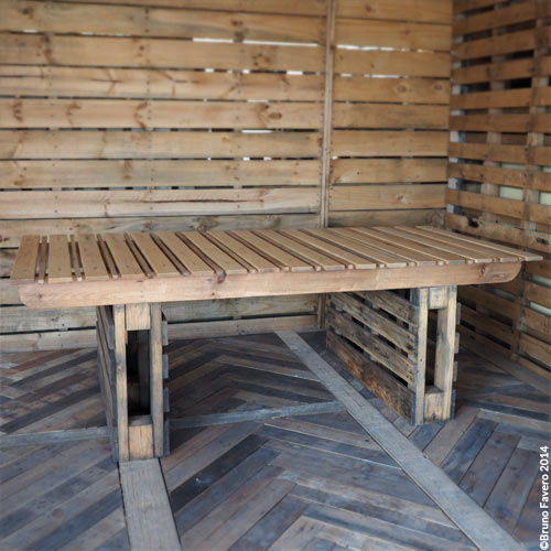 tavoli con pallet vendita design casa creativa e mobili