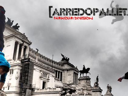 Arredopallet parkour division