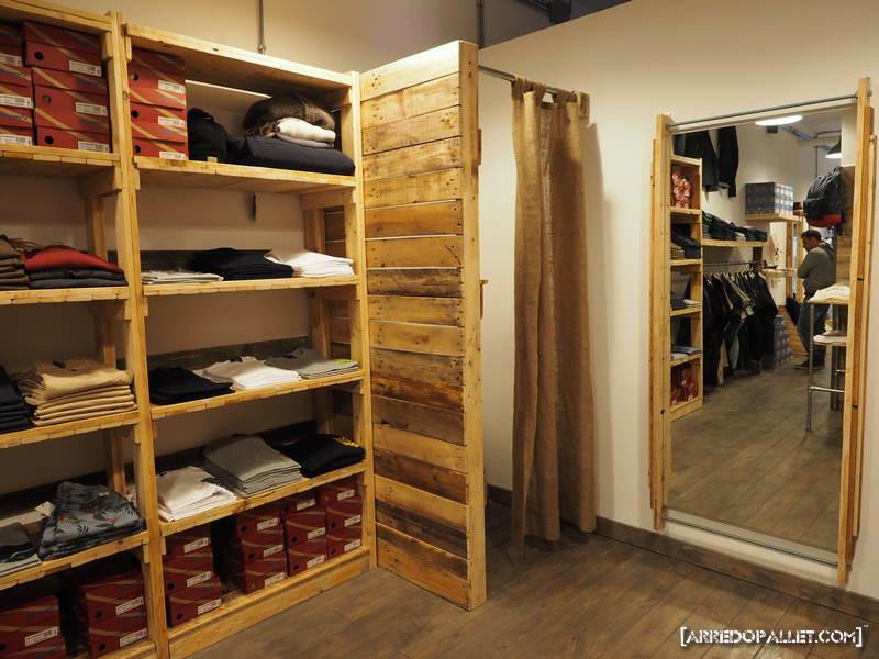 little america - arredopallet - Arredamento Negozio Abbigliamento Roma
