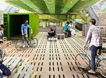 Progetto Sotto il viadotto
