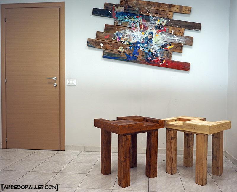 tavolino in pallet
