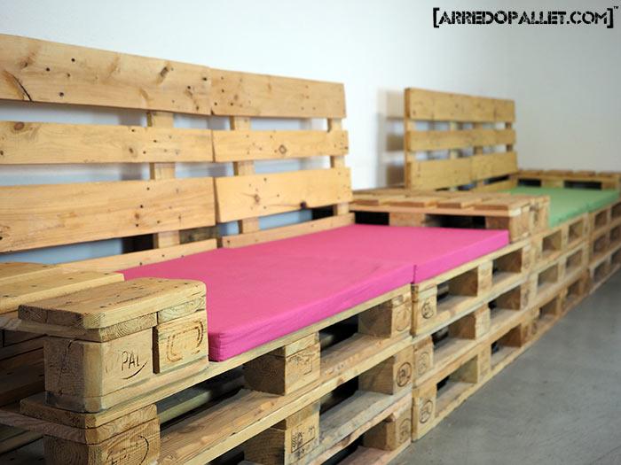 divano in pallet