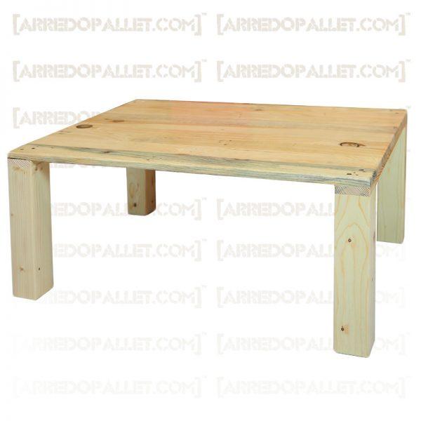 tavolino basso in pallet