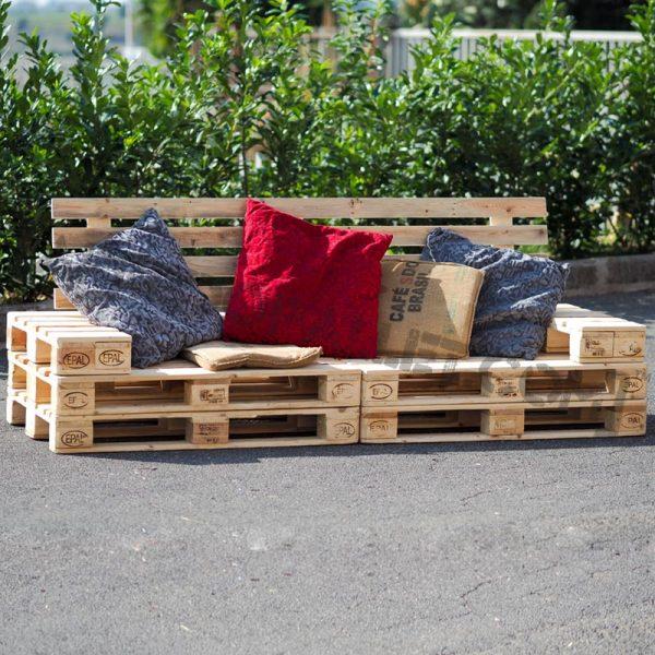 divano con pallet