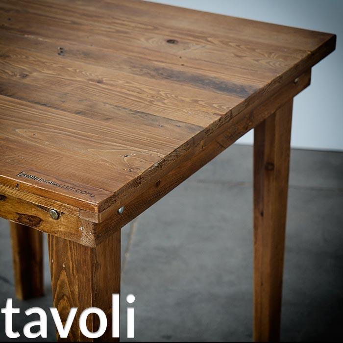 Arredamento in pallet mobili con bancali riciclati for Arredamento tavoli