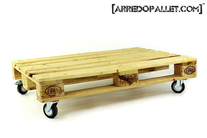 Foto tavolino ruote pallet arredopallet
