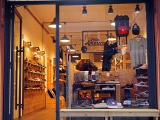 riciclo arredamenti per negozi