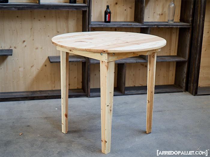 tavolo in pallet