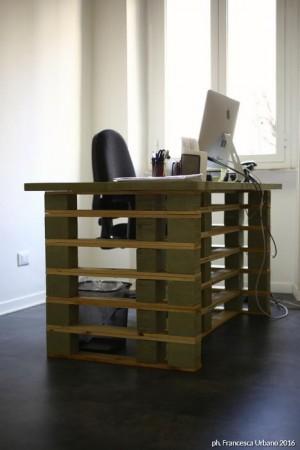 mobili per ufficio in pallet