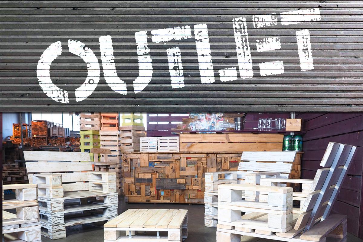 Pallet outlet arredamenti con bancali a prezzi stock for Arredamenti con pallet