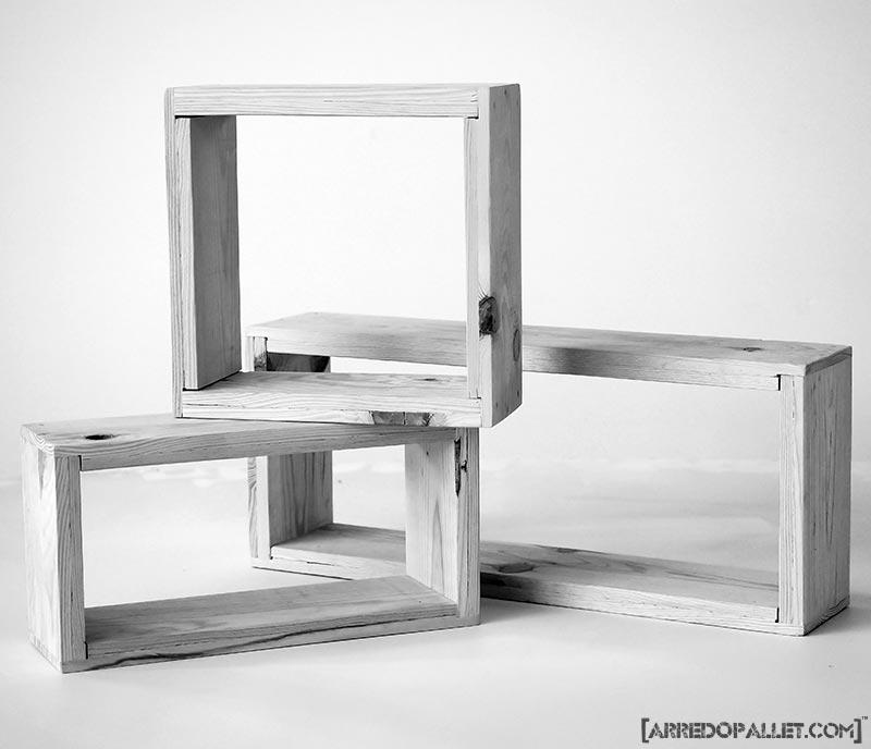 moduli legno di recupero
