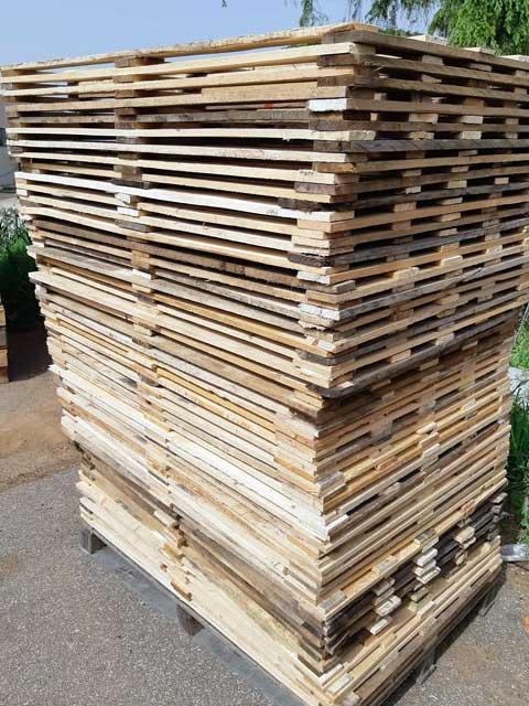 plance di legno pedane