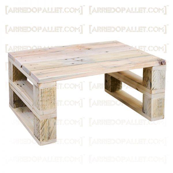 tavolino basso con pallet