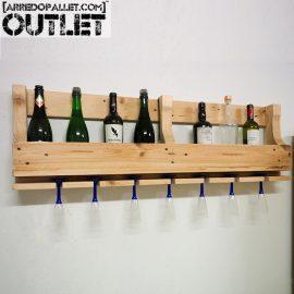 porta bottiglie pallet